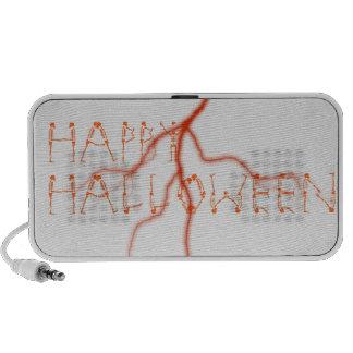 Altavoz del Doodle de los esqueletos de Halloween