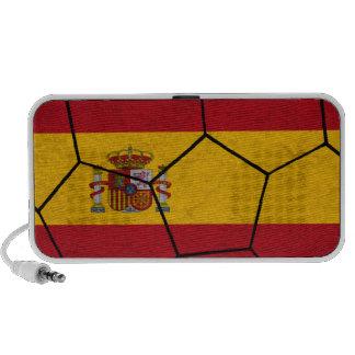 Altavoz del Doodle del balón de fútbol de España
