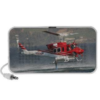 Altavoz del Doodle del helicóptero del agua del fu