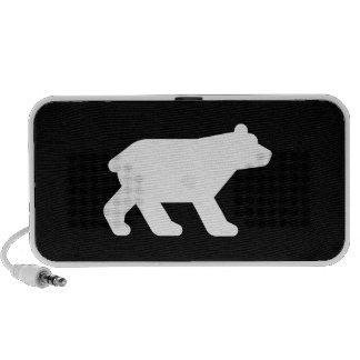 Altavoz del Doodle del pictograma del oso