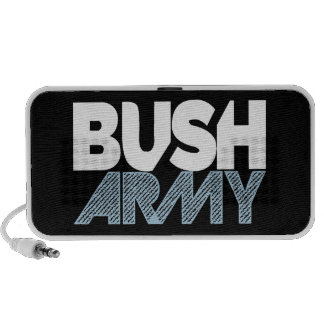 Altavoz del ejército de Bush