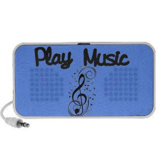Altavoz del externo de la música del juego