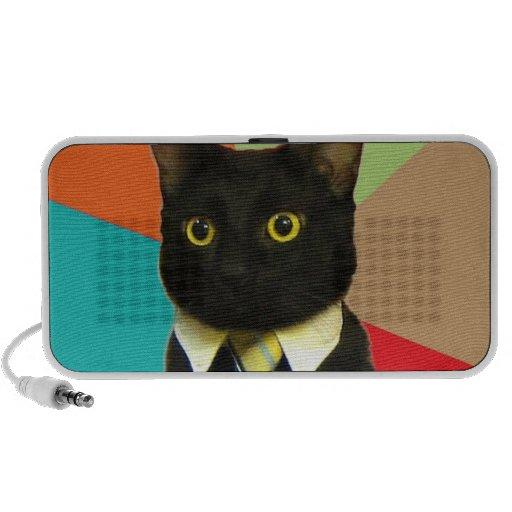 Altavoz del gato del negocio