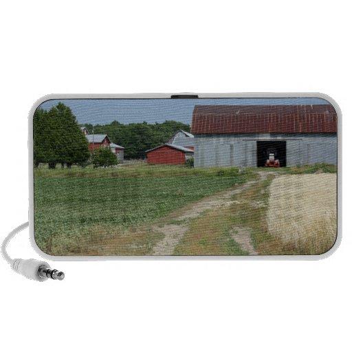 Altavoz del paisaje de la granja