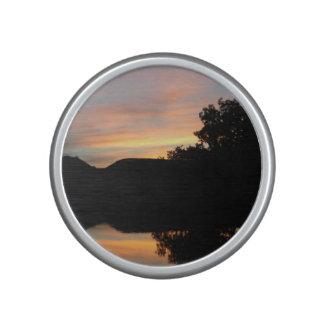 Altavoz del parachoque de la puesta del sol del