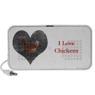 Altavoz del pollo del corazón