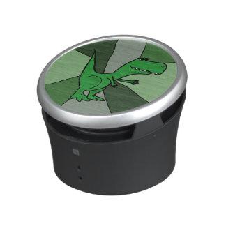 Altavoz divertido de Bluetooth del dinosaurio