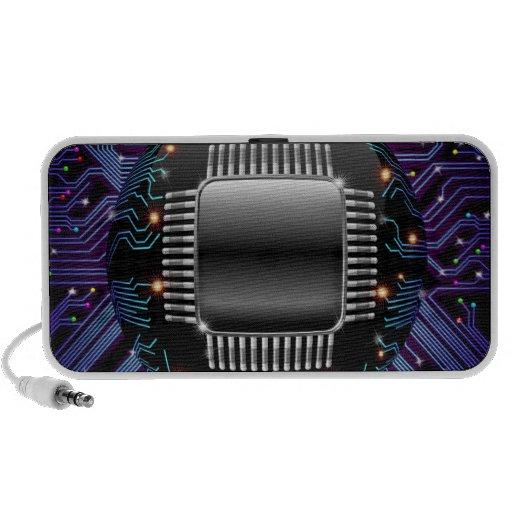 Altavoz electrónico del circuito de la placa madre