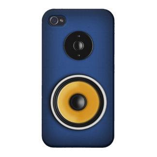 Altavoz en la caja azul del iPhone 4 iPhone 4/4S Carcasas