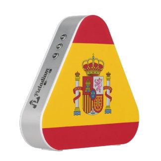 Altavoz español del pieladium de la bandera
