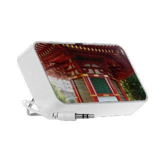 Altavoz japonés del MP3 del Doodle de la pagoda de