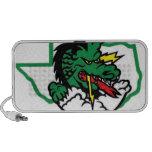 "Altavoz mini ""Tailgater"" del logotipo del dragón--"
