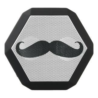 Altavoz negro de Boombot Rex Bluetooth del bigote