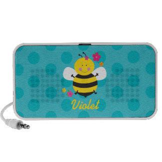 Altavoz personalizado abeja linda