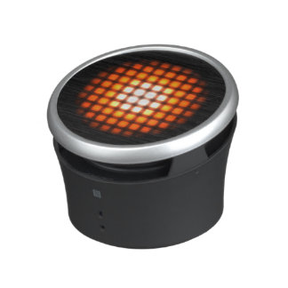 Altavoz portátil de neón caliente del diseño