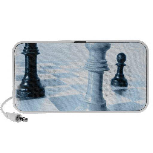 Altavoz portátil del diseño del ajedrez