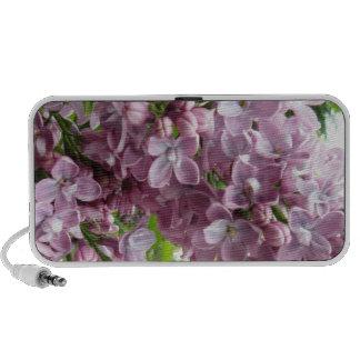 Altavoz púrpura del Doodle de la lila