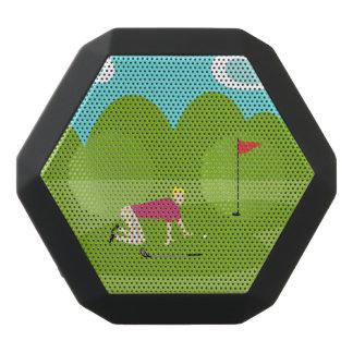 Altavoz retro de REX de Boombot del golfista Altavoces Bluetooth Negros Boombot REX