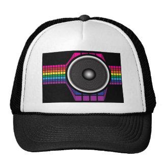 Altavoz retro gorra