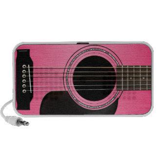Altavoz rosado del Doodle de la guitarra