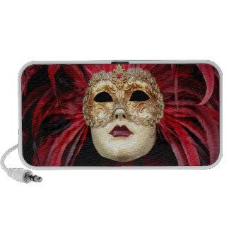 Altavoz veneciano de la máscara