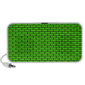 altavoz verde speaker