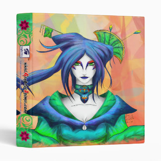 "AltDelta : Blue Geisha - 1"" Binder"