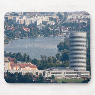 Alte Donau, Floridotower Mouse Pad