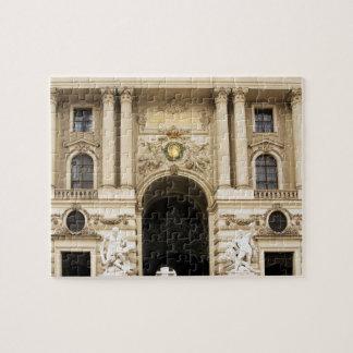 Alte Hofburg in Vienna photo Jigsaw Puzzle