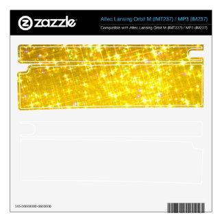 Altec Lansing Orbit M (IMT237) / MP3 (IM237) Gold Orbit M Speaker Skins