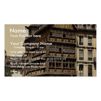 Altehaus, Strassburg, vin de la Alsacia-Lorena, Al Tarjeta Personal
