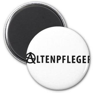 Altenpfleger icon 2 inch round magnet