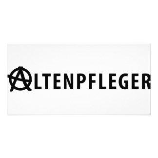 Altenpfleger icon card