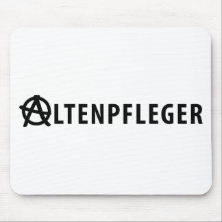 Altenpfleger icon mouse pad