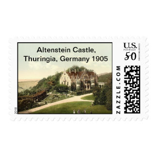Altenstein Castle, Thuringia, Germany Postage