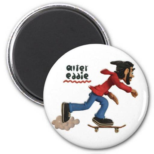 alter eddie 2 inch round magnet