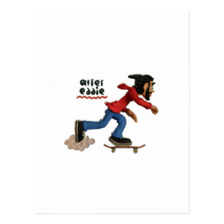 alter eddie postcard
