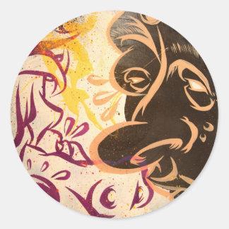 Alter Ego Classic Round Sticker