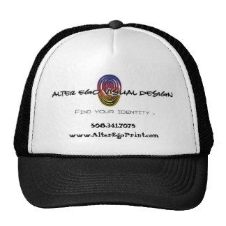 Alter Ego Print Baseball Cap Trucker Hat