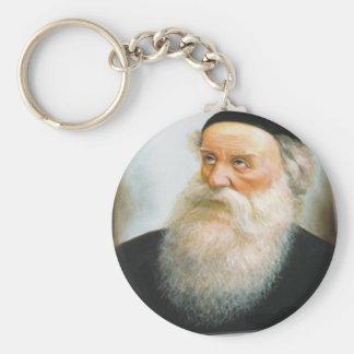 Alter Rebbe Basic Round Button Keychain