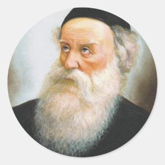Alter Rebbe Classic Round Sticker