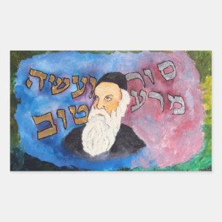 Alter Rebbe Rectangular Sticker