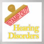 Alteraciones del oído impresiones
