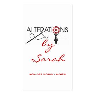 Alteration, Fashion, Business Card