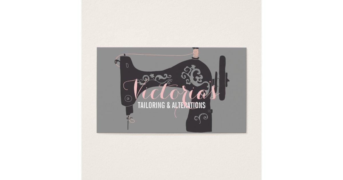 Fantastic Seamstress Business Cards Embellishment - Business Card ...