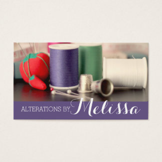 Alteration, Tailor , Tailor, Seamstress Business Card