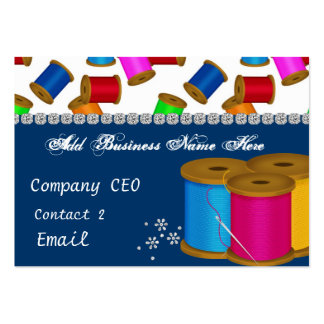 Alterations Bling Business Card