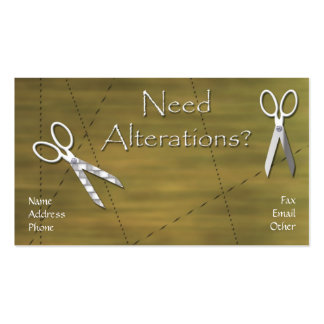 Alterations Business Card