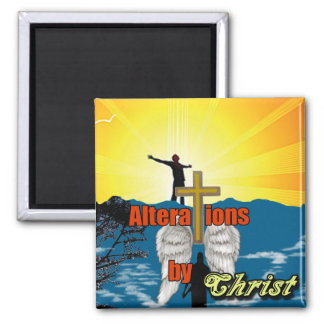 Alterations by Christ 2 Inch Square Magnet