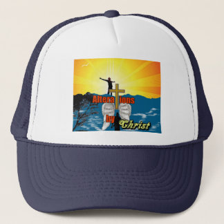 Alterations by Christ Trucker Hat